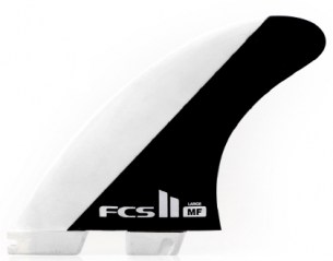 FCS II MF PC Tri Set Mick Fanning's large signature FCS II fin f