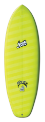 Tabla lost Bottom feeder 5.6 21 disponible en blanca.