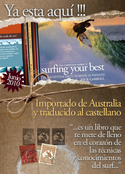 LIBRO DE SURF,SURFING YOUR BEST