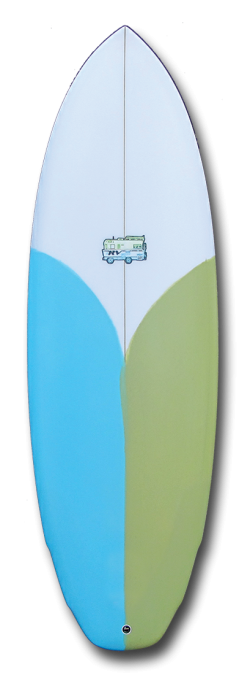Tabla lost RV 5.6 20 3/4 2 3/8.Disponible en blanco.